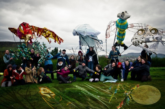 The Elementals at a Beltane 2012 walkthrough by Raini Scott