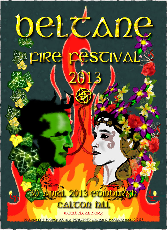 Beltane 2013 poster artwork entry #3