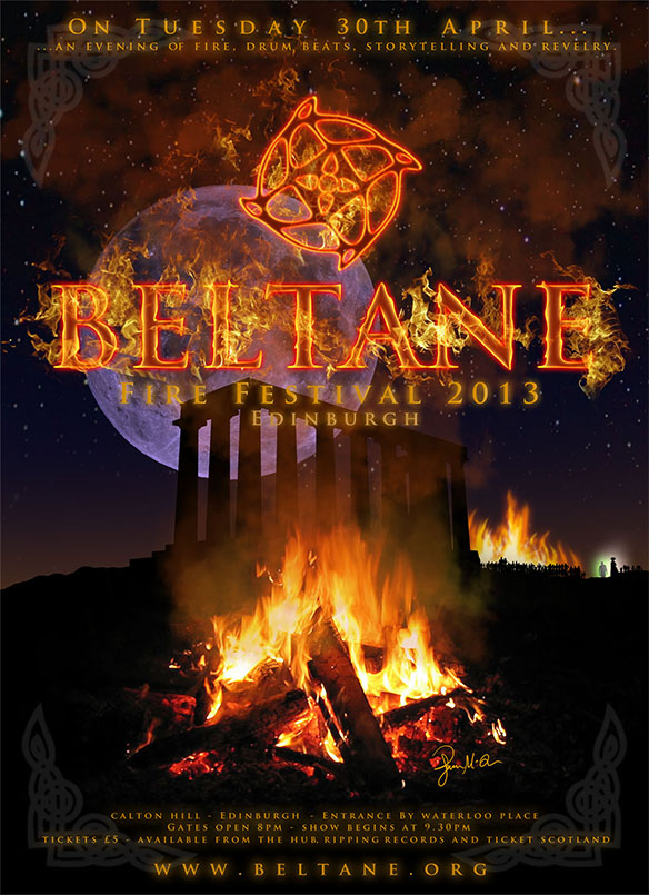 Beltane 2013 poster artwork entry #5