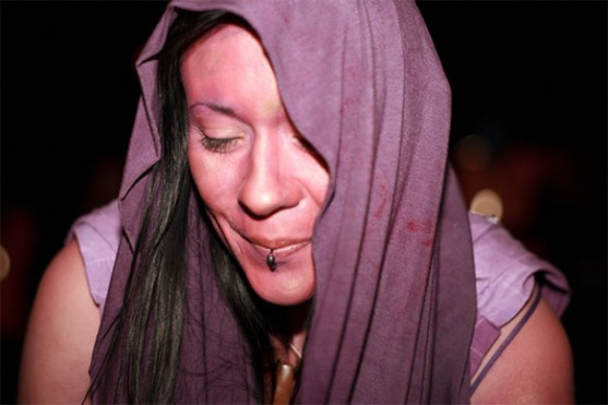Laura at Bower, Beltane 2011, by Daniel Rannoch