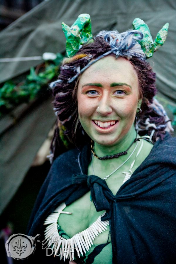 Susan at Beltane 2012 by Ellen Duffy