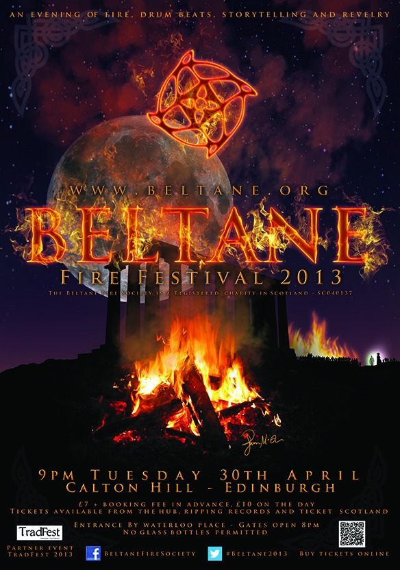 Beltane Fire Festival 2013