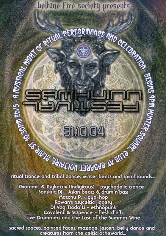 Samhuinn 2004 Poster