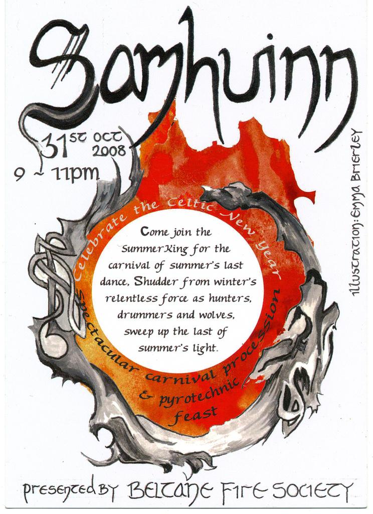 Samhuinn 2008 Poster