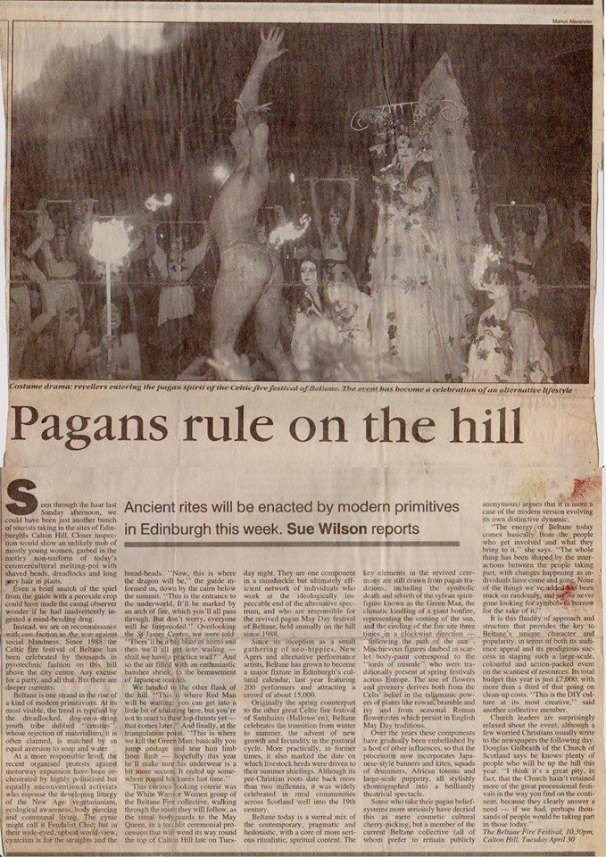 edinburgh night media articles