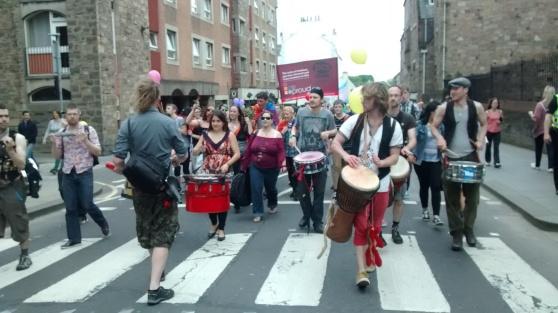 Beasties at Pride Scotia 2014