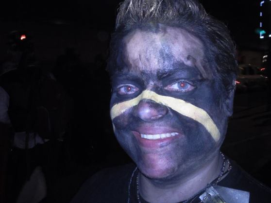 Photo of Erin at the Beltane 2011 after party by Tina Greig