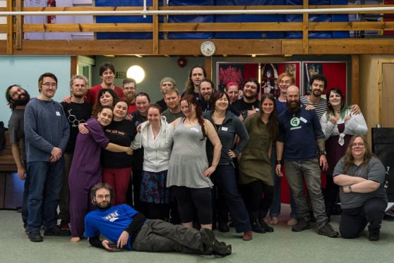 Photo of Beltane 2015 Group Organisers, Court and Blues by James Illing