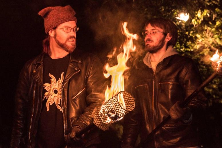 Torchbearers rehearsal by Dan Mosley