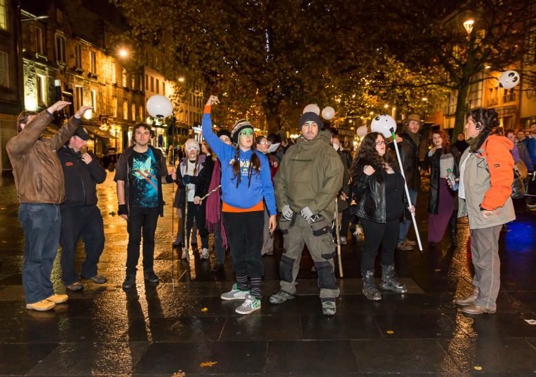 Final full-cast walkthrough rehearsal by Neil Barton