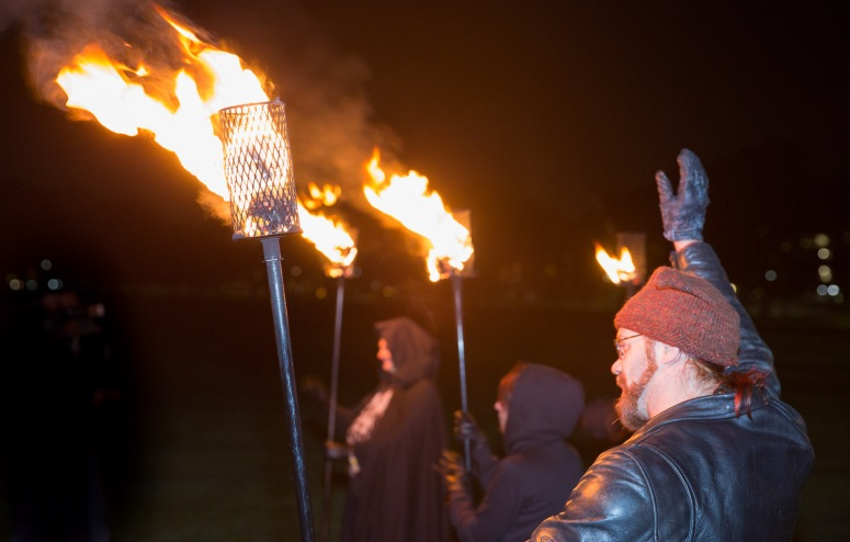Torchbearers rehearsal by Neil Barton