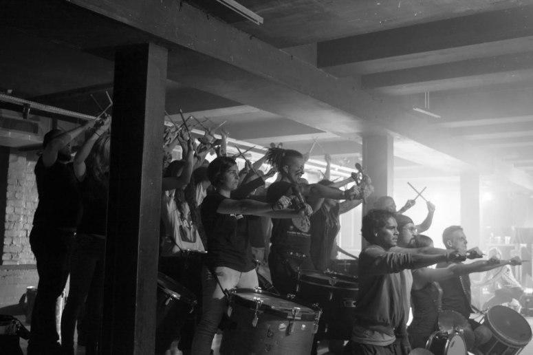 Winter Drummers rehearsal by Pascal van der Meiden
