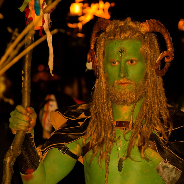 Will at Beltane 2015 by Mark Taylor