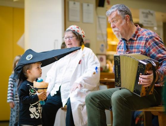 Family Samhuinn at the Scottish Storytelling Centre