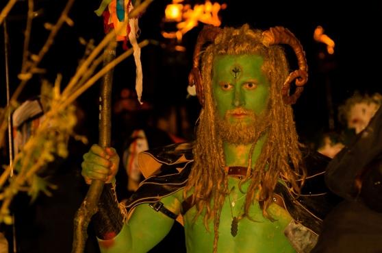 Green Man at Beltane 2015 by Mark Taylor