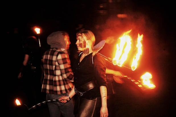 Nomadic Flame by Bleu Hope