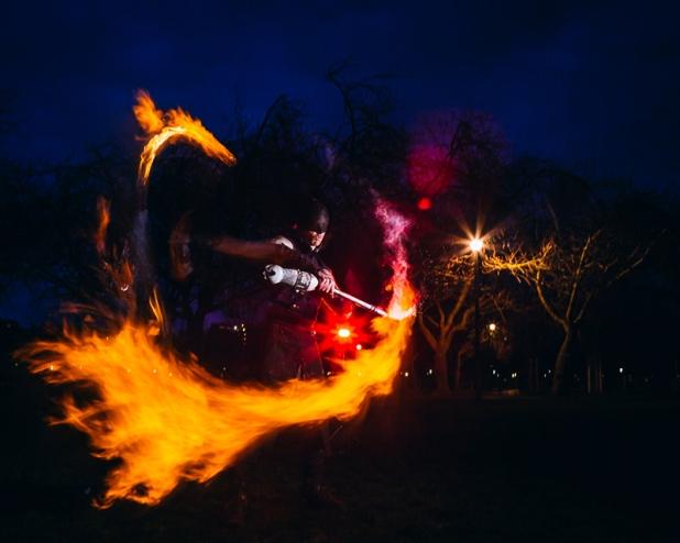 Nomadic Flame by Martin McCarthy