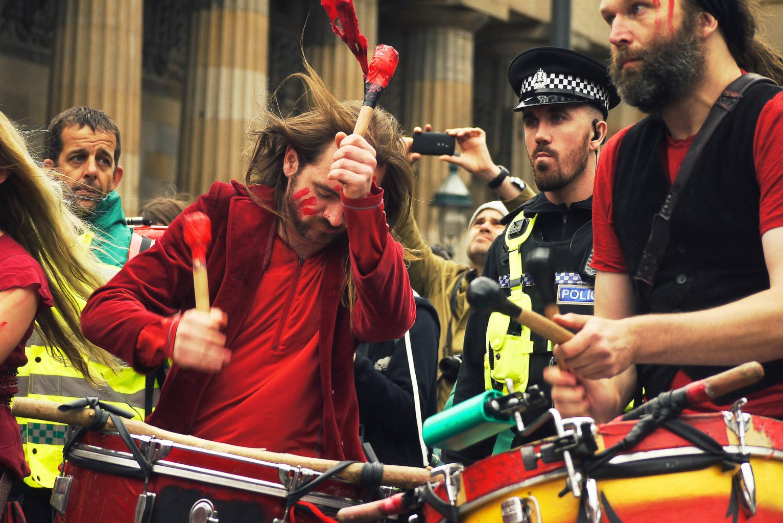 BFS at the Edinburgh Jazz and Blues Festival Carnival 2016 by Bleu Hope
