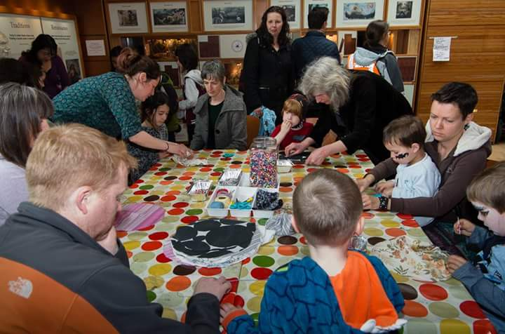 Our volunteers crafted heaps of fun for everyone at Family Beltane earlier this year.