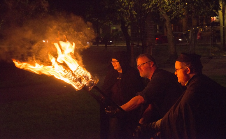 Samhuinn 2016 Torchbearers rehearsal by David Purvis