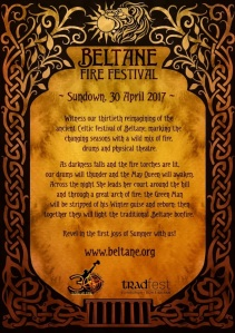 Beltane 2017 Flyer Back by Natasa Ilincic