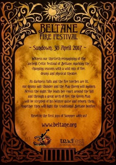 Beltane 2017 Flyer Back by Natasa Ilincic