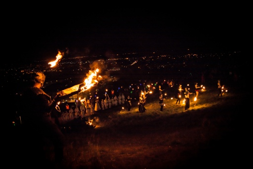 ..and Fire. | Photo by Pascal van der Meiden for Beltane Fire Society. All rights Reserved.