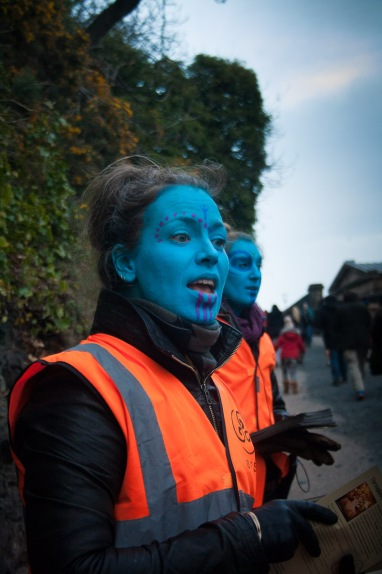 Stewards at Beltane Fire Festival 2017 | Copyright Andrea Hudecz for Beltane Fire Society.