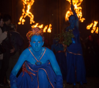 Blues at Beltane Fire Festival 2017 | Copyright James Armandary for Beltane Fire Society.
