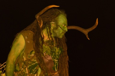 Green Man at Beltane Fire Festival 2017 | Copyright Mark S I Taylor for Beltane Fire Society.