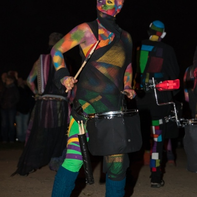 Aether Drummers at Beltane Fire Festival 2017 | Copyright Neil Barton for Beltane Fire Society.