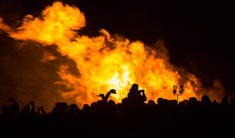 Beltane Fire Festival 2017, Calton Hill, Edinburgh