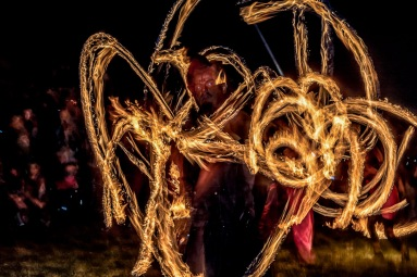 Aios Fior at Beltane Fire Festival 2017 | Copyright Vince Graham for Beltane Fire Society.