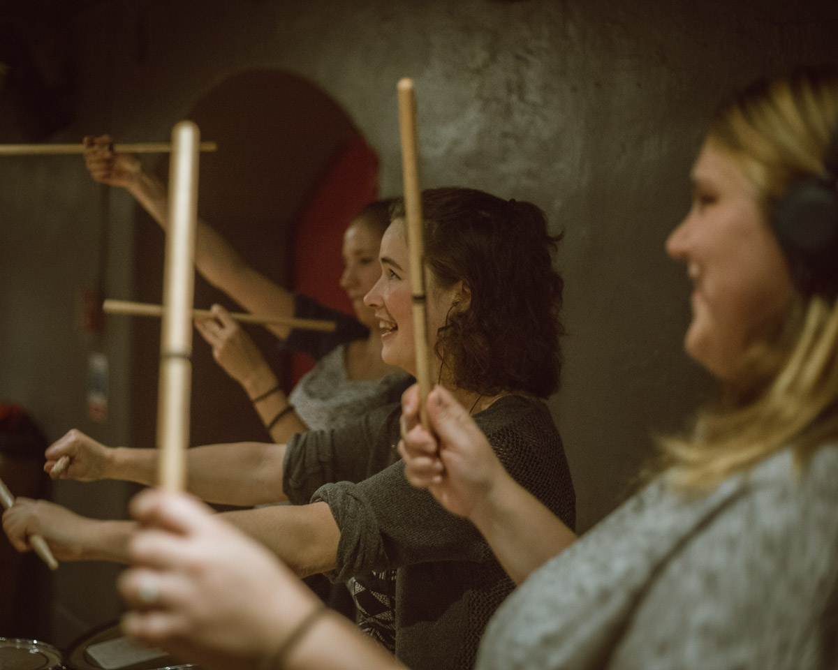 """Part of the heart"": Meet our Winter Drummers"