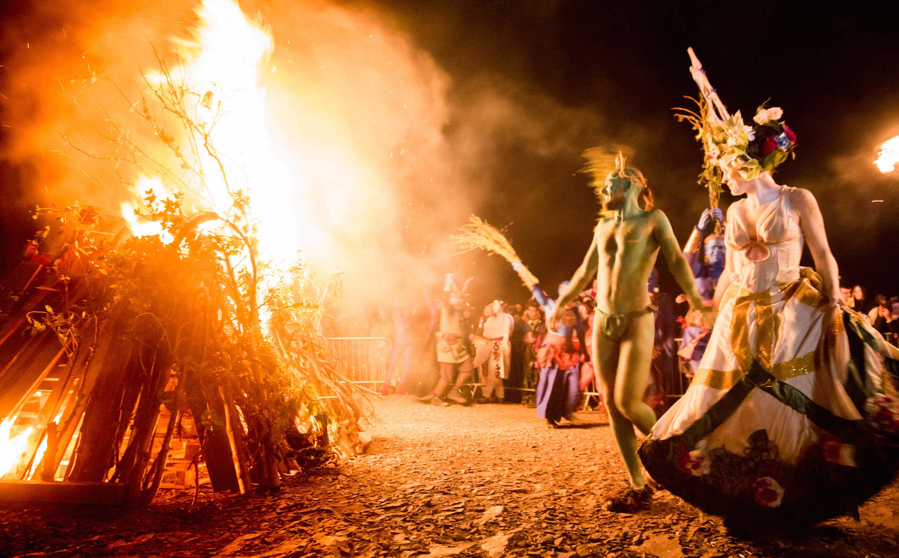 The Narrative of Beltane 2018 – in Photos