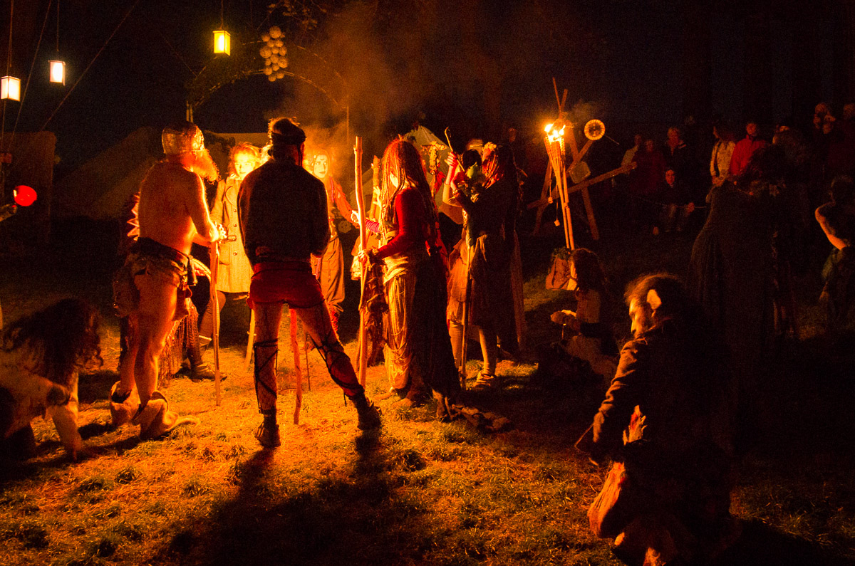 Fifth set of Beltane Fire Festival pictures