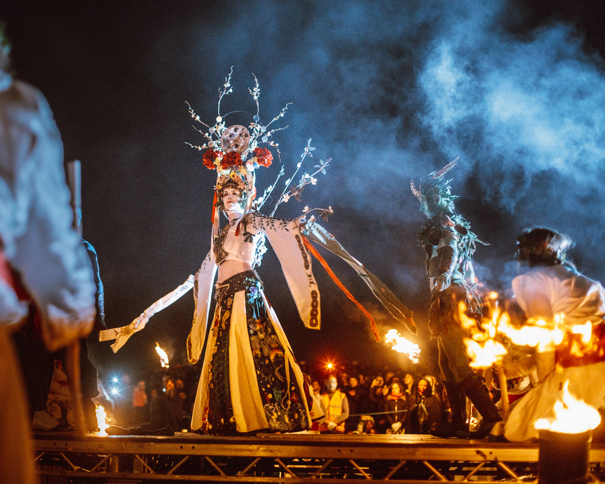 Sixth release of Beltane Fire Festival photos