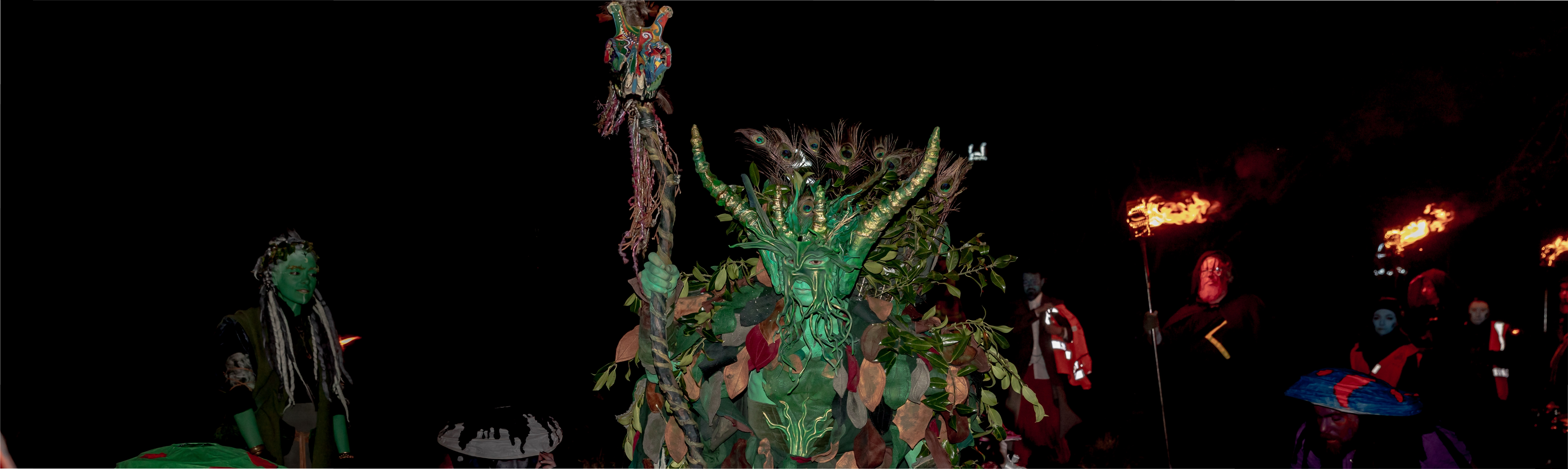 Calling our Green Man for Beltane 2019