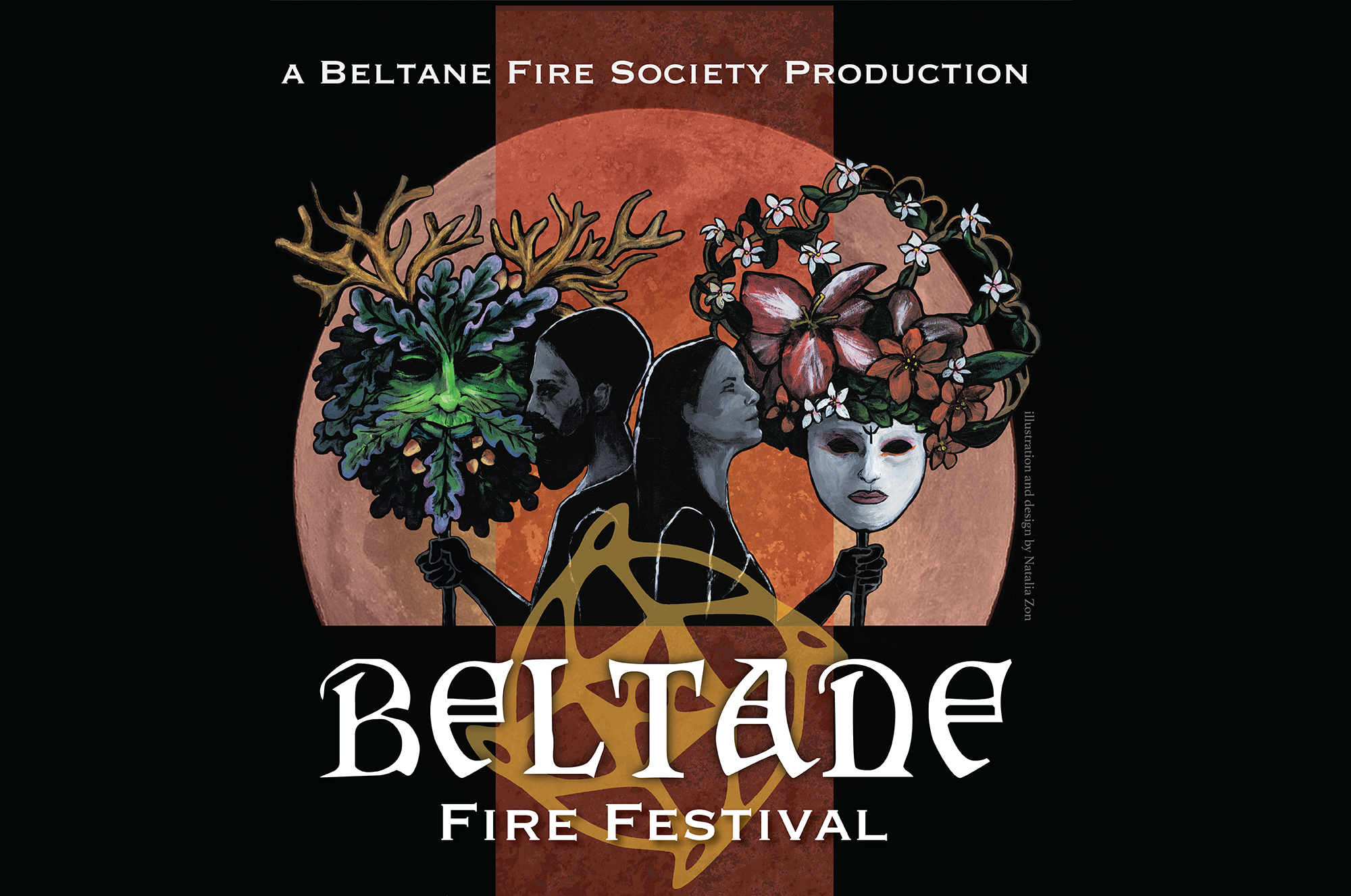 Introducing our poster design for Beltane Fire Festival