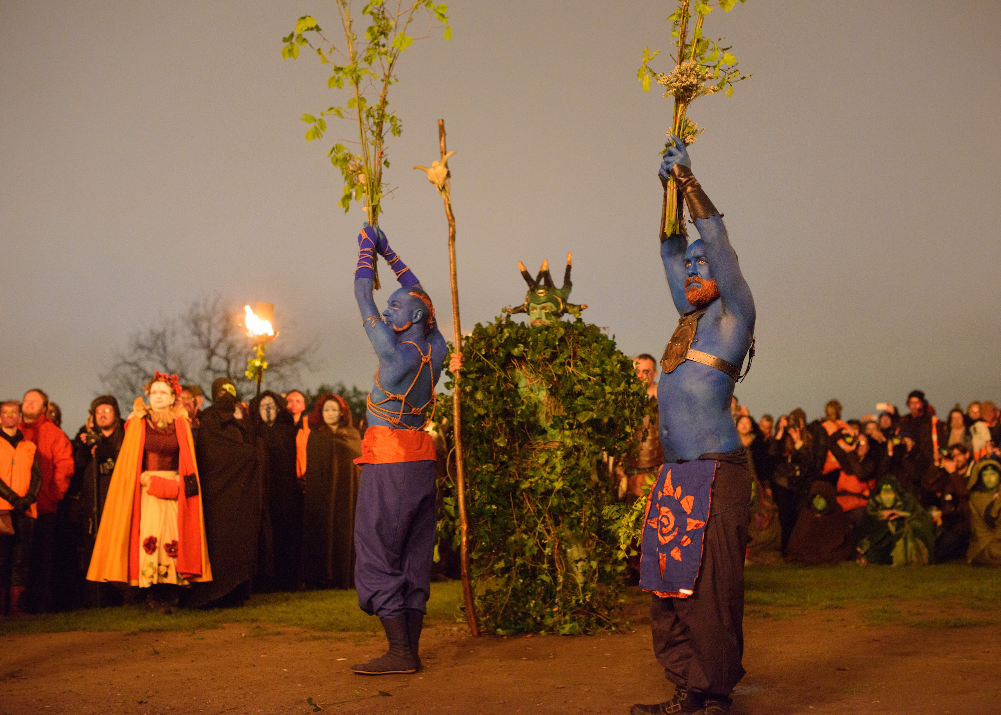 Our new Green Man takes the mantle for Beltane 2020